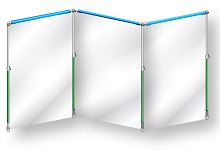 Curtain-Wall StarterKit 4,5m